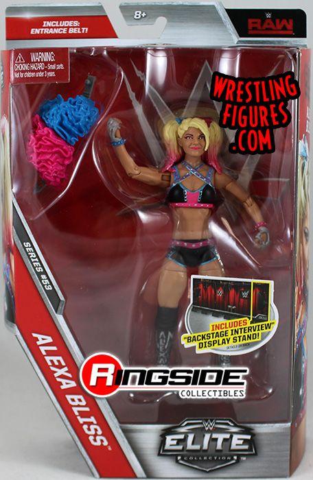 WWE Custom MATTEL ELITE Alexa Bliss Custom Shirt