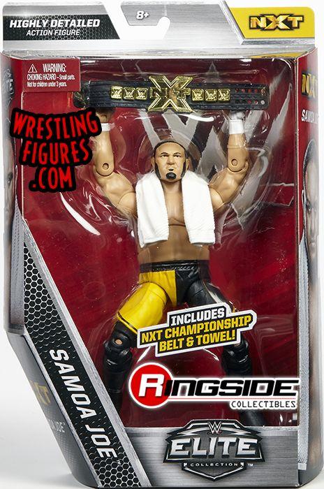 WWE Mattel Elite Samoa Joe Wrestling Action Figure NXT Championship Series