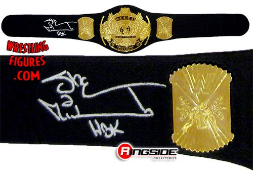 3f3426ef9c6f Shawn Michaels - Autographed Replica Heavyweight Championship | Ringside  Collectibles
