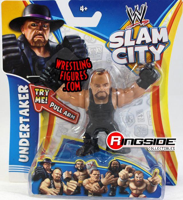 NEW! wrestling figures WWE Slam City Figure