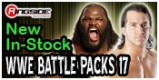 WWE BATTLE PACKS 17 TOY WRESTLING ACTION FIGURES BY MATTEL