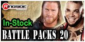 WWE BATTLE PACKS 20 TOY WRESTLING ACTION FIGURES BY MATTEL