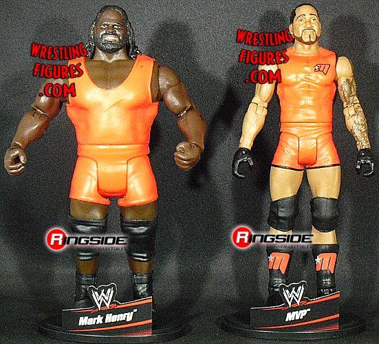 MATTEL WWE 2 PACKS 6 LOOSE IMAGES