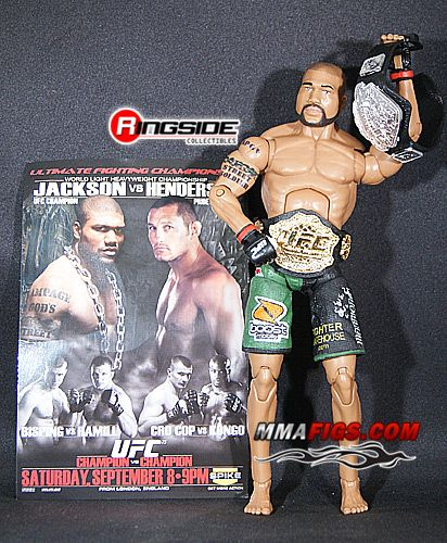 RAMPAGE JACKSON UFC EXCLUSIVE TOY MMA ACTION FIGURE BY JAKKS PACIFIC
