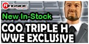 WWE COO Triple H Exclusive!