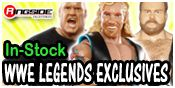 WWE LEGENDS EXCLUSIVES TOY WRESTLING ACTION FIGURES BY MATTEL