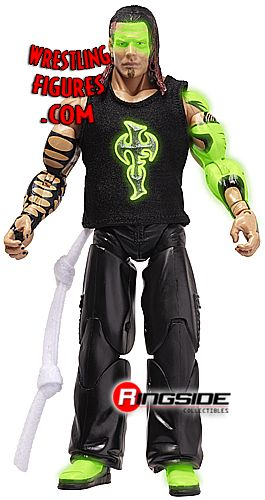 Glow Paint Jeff Hardy Ringside Collectibles Exclusive TNA Toy Wrestling Action Figure by Jakks Pacific