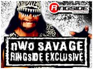 NWO SAVAGE EXCLUSIVE WWE TOY WRESTLING ACTION FIGURES BY MATTEL