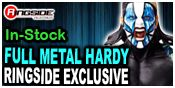 FULL METAL HARDY - JEFF HARDY RINGSIDE COLLECTIBLES EXCLUSIVE TOY WRESTLING ACTION FIGURE BY JAKKS PACIFIC