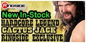 Cactus Jack Ringside Exclusive!