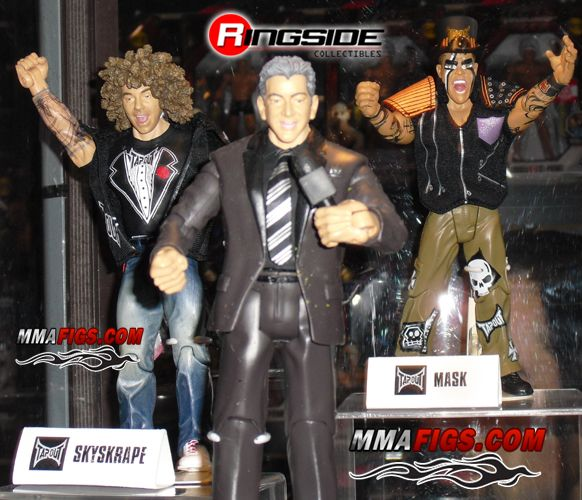 Spring Toy Fair 2011 WWE Mattel