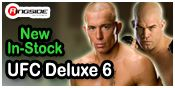UFC DELUXE 6 MMA ACTION FIGURES BY JAKKS PACIFIC