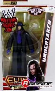 Classic Undertaker in Mattel WWE Elite 23!