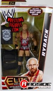 Ryback in Mattel's WWE Elite 24!