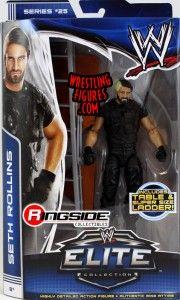 Seth Rollins' FIRST Mattel WWE Elite Figure!