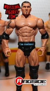The Animal Batista returns to Mattel WWE!