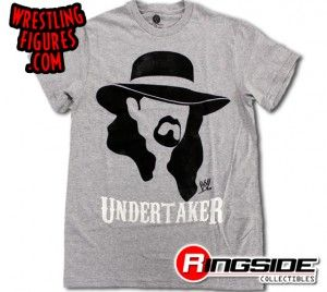 Stylin' and profilin' Undertaker t-shirt!