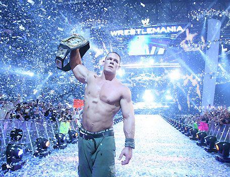 John Cena in Mattel WWE WrestleMania XXX Series!