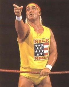 Hulk Rules! Hulkamania Height Hulk Hogan!