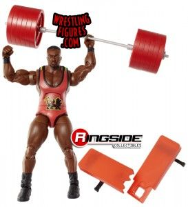Big E Langston in Mattel WWE Elite 26!