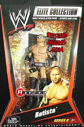 Mattel WWE Elite 6 Batista!