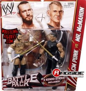Mattel WWE Battle Packs 23 CM Punk vs. Vince McMahon!