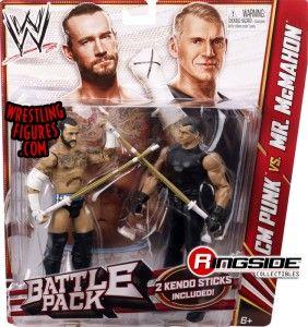 Mattel WWE Battle Packs 23 CM Punk vs. Vince McMahon!
