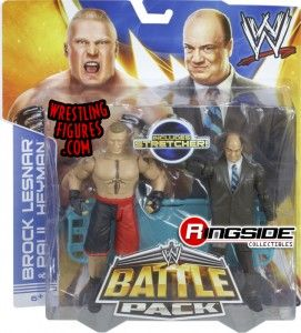 Mattel WWE Battle Packs 25 Brock Lesnar & Paul Heyman!