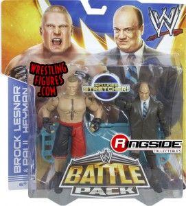 Mattel WWE Battle Packs 25 Brock Lesnar & Paul Heyman!