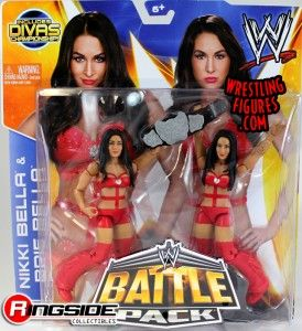 Mattel WWE Battle Packs 26 The Bella Twins!