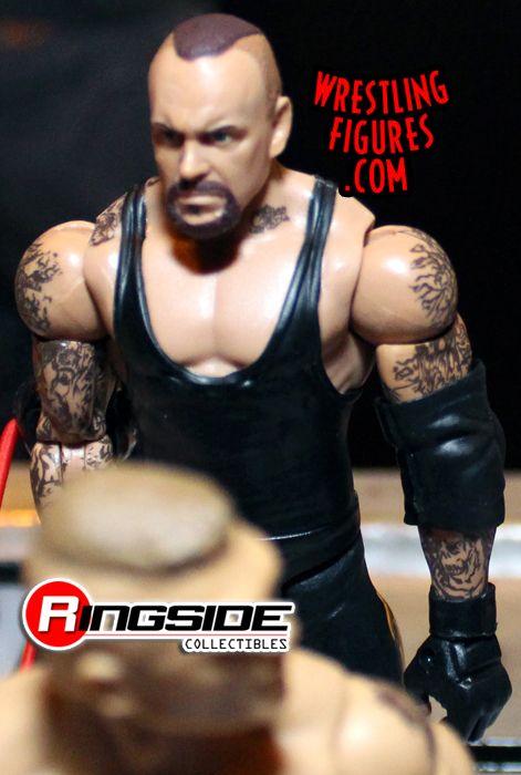 (First Look) The Undertaker in Mattel WWE WrestleMania XXX Series!