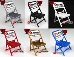 Ringside Collectibles Exclusive Folding Chairs!