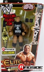 Brock Lesnar Mattel WWE Ringside Collectibles Exclusive!
