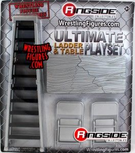 Ringside Collectibles Exclusive Ultimate Ladder and Table Playset!