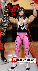 Bret Hart, Mattel WWE Elite and WWE Champion On His Way Out To WCW!
