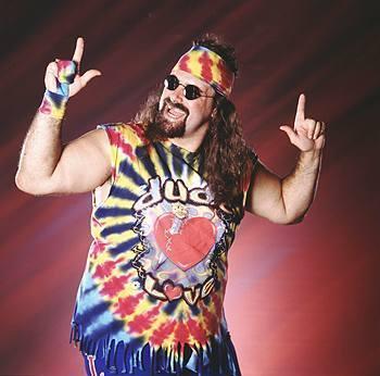 Classic Mattel WWE Dude Love figure!