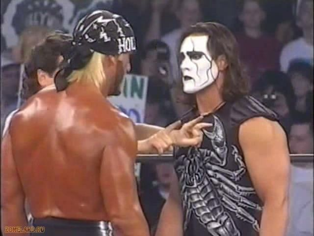 Mattel WWE WCW Black and White Sting!