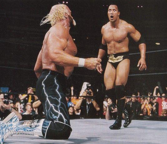 nWo Hulk Hogan vs. The Rock Mattel WWE figure!