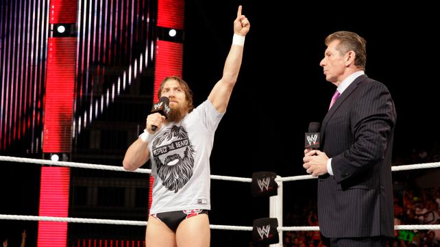 Daniel Bryan Mattel WWE Figure with 'Respect the Beard' Shirt!