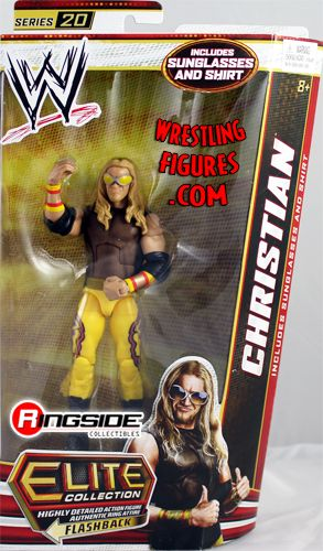 Mattel WWE Elite 20 Christian!