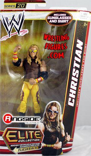 Mattel WWE Elite 20 Christian!
