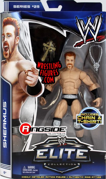 Mattel WWE Elite 25 Sheamus!