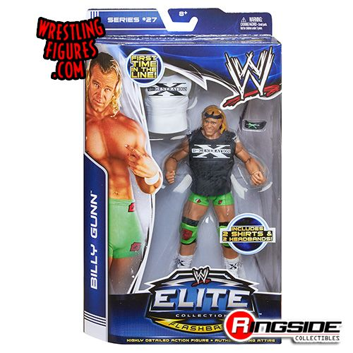 Mattel WWE Elite 27 Billy Gunn!