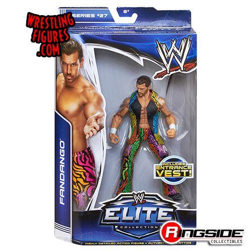 Mattel WWE Elite 27 Fandango!
