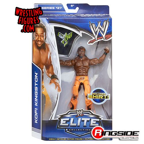 Mattel WWE Elite 27 Kofi Kingston!