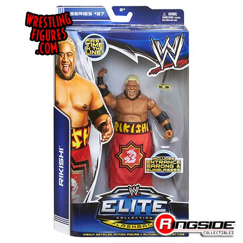 Mattel WWE Elite 27 Rikishi!