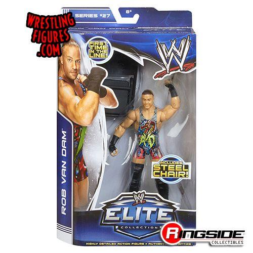 Mattel WWE Elite 27 Rob Van Dam!