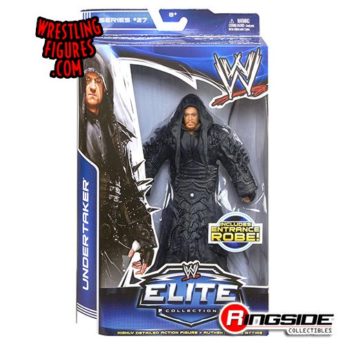 Mattel WWE Elite 27 Undertaker!