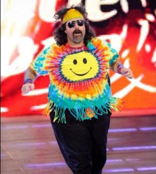 Modern Day Mattel WWE Dude Love figure!