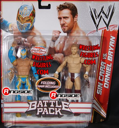 Mattel WWE Battle Packs 15 Sin Cara vs. Daniel Bryan!